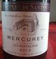 Mercurey - Les Montelons