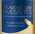MUSCAT DE RIVESALTES COTES D'AGLY