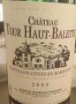 Château Tour Haut-Balette