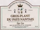 Gros Plant Du Pays Nantais