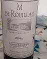 M de Rouillac