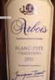 Arbois Blanc-Typé Tradition