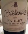 Les Bastédières - Sablet