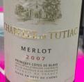 Chapelle de Tutiac Merlot