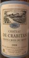 Chateau de Crabitan - Sainte-Croix-Du-Mont