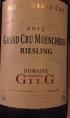 Grand Cru Moenchberg Riesling