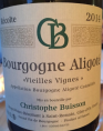 Bourgogne Aligoté Vieilles Vignes