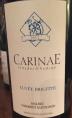 Carinae - Cuvée Brigitte