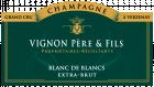 Champagne Blanc de blancs grand Cru Verzenay Potences - Rochelles
