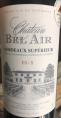 Château Bel Air Bordeaux Supérieur