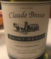 Saint-Véran - Cuvée Claude Brosse