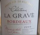 Château La Grave Bordeaux
