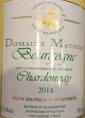 Domaine Mathias Chardonnay