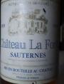 Château La Forêt Sauternes