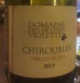Chiroubles Vieilles Vignes