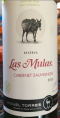 Las Mulas Cabernet Sauvignon