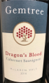 Dragon's Blood Cabernet Sauvignon