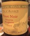 Pinot Noir - Réserve Bergheim