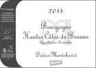 Bourogne Hautes Côtes de Beaune