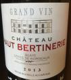 Château Haut Bertinerie