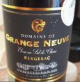 Domaine de Grange Neuve Bergerac Elevé en Fût de Chêne