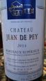 Château Jean de Pey Bordeaux Supérieur
