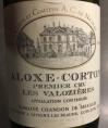 Aloxe-Corton - Premier Cru - Les Valozières