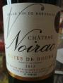 Château Noirac - Côtes de Bourg