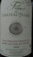 Filius de Château Patris