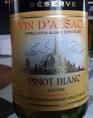 Pinot Blanc Klevner Réserve