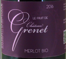 LE FRUIT DE CHÂTEAU GRENET