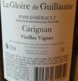 La Gloire de Guillaume Carignan Vieilles Vignes