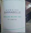 In Sarra Gaillac Blanc Sec