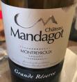 Château Mandagot - Grande réserve