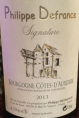 Domaine Philippe Defrance
