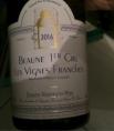 Beaune 1er Cru Les Vignes Franches