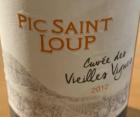 Pic Saint Loup Cuvée Vieilles Vignes
