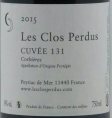 Les Clos Perdus Cuvee 131