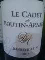 Le Cadet de Boutin-Arnaud