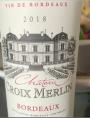 Château Croix Merlin