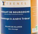 Crémant de Bourgogne Hommage à André Trenel Blanc de Blancs Brut Nature