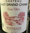Château Haut Grand Champ Cuvée Chloé