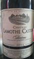 Château Lamothe Castéra
