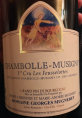 Chambolle-Musigny Premier Cru - Les Feusselottes