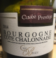 Bourgogne Côte Chalonnaise Cuvée Prestige