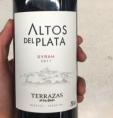 Syrah Altos del Plata
