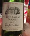 Château Grand Barrail Larose