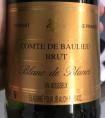 Comte de Baulieu Brut Blanc de Blancs