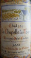 Château la Chapelle des Tours