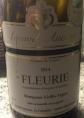Fleurie Montgenas Vieilles Vignes